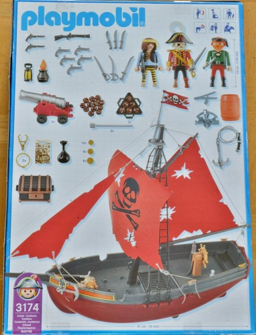 Articles de boblebrestois playmobil tagg s notice playmobil 3174 blog de boblebrestois les - Playmobil bateau corsaire ...