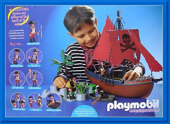 6a sp cial histoire soldat piraterie bateau radeau 3619 3133 bateau pirate ilot - Playmobil bateau corsaire ...