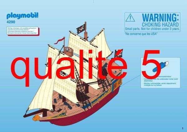 Blog de boblebrestois playmobil page 35 blog de boblebrestois les notices playmobil - Playmobil bateau corsaire ...