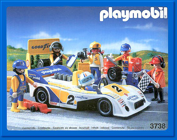 13e sp cial sports v hicules 3738 voiture de course blog de boblebrestois les notices playmobil. Black Bedroom Furniture Sets. Home Design Ideas